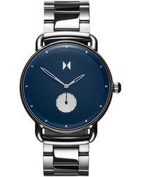 MVMT D-mr01-blus Men's Revolver Bracelet Strap Watch - Blue