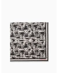 Calvin Klein - Bandana Print Square - Lyst