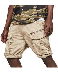 G-Star RAW Rovic Relaxed Cargo Short W/ Zip-pocket - Multicolour