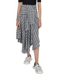 Maje Rapri Dress - Gray