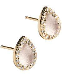 Samantha Wills Mini Bb Stud Earring - Metallic