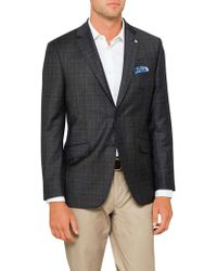 Ted Baker - 2b Sb Sv Wool Pow Check Jacket - Lyst