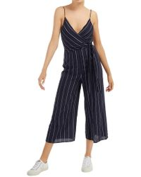 The Fifth Label Coast Stripe Jumpsuit - Blue