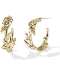 Meadowlark - Small Alba Hoop Earrings - Lyst