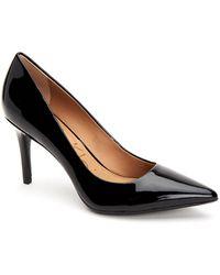 Calvin Klein - Gayle Patent Black - Lyst