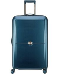 Delsey Turenne 75cm Large Suitcase - Blue