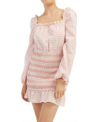 The Fifth Label - Iris Check Ls Dress - Lyst