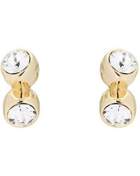 Ted Baker - Crystal Tumble Tiny Drop Earring - Lyst