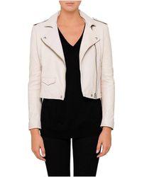 IRO - Ashville Leather Jacket - Lyst