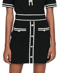 Maje Jeroma Skirt - Black