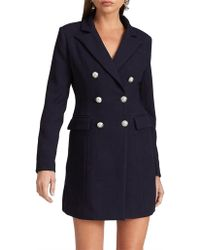 Lioness The Oxford Coat - Blue