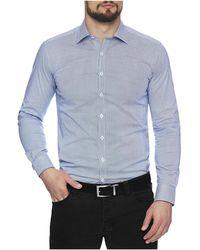 Geoffrey Beene - Elipse Stretch Print Body Fit Shirt - Lyst
