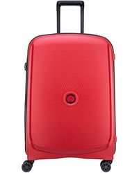 Delsey Belmont+ 70cm Large Suitcase - Red