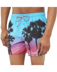Ted Baker - Palm Tree Sunset Swim Short - Lyst