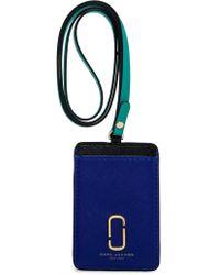 Marc Jacobs Long Strap Commuter Case - Blue
