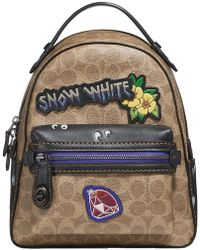 COACH - Disney X Campus Backpack 23 In Signature Patchwork - Lyst