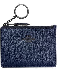 COACH Mini Skinny Id Case - Blue