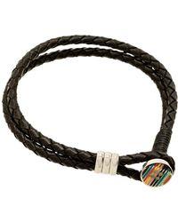 Paul Smith Enamel Button Bracelet - Black