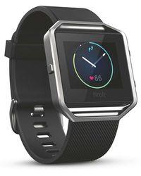 Fitbit - Blaze Silver Large - Lyst