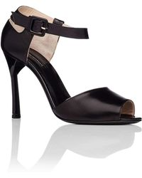 Emporio Armani - 95mm Closed Heel Strappy Sandal - Lyst