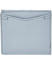 Fossil Caroline Rfid Mini Wallet - Blue