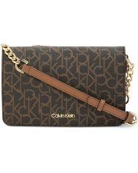 Calvin Klein Hudson Belt Bag Monogram BROWN/KHAKI/LUGGAGE