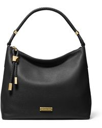 MICHAEL Michael Kors Cynthia Medium Leather Satchel - Metallic