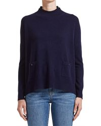 Saba - Ellie Relaxed Pocket Knit - Lyst