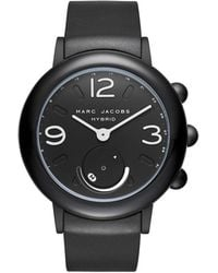 Marc By Marc Jacobs - Riley Hybrid Black Hybrid Smartwatch - Lyst