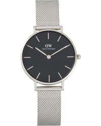 Daniel Wellington - Classic Petite Watches - Black Dial 32mm - Lyst
