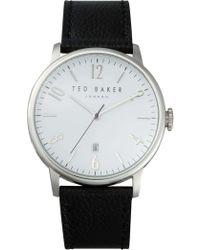 Ted Baker - Daniel - Black/silver - Lyst