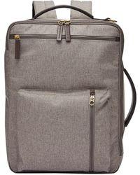 Fossil Buckner Backpack Titanium - Multicolour