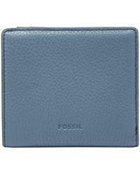 Fossil Emma Rfid Mini Wallet - Blue