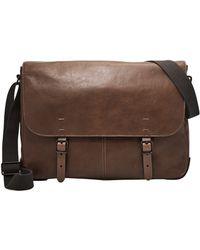 Fossil Defender Messenger - Brown