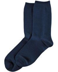 Hue - Wool Sock - Lyst
