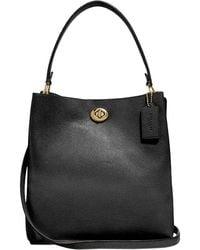 COACH Charlie Bucket Bag - Black