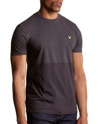 Lyle & Scott - Block Marl T-shirt - Lyst