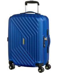American Tourister Airforce 1 55cm Spinner - Blue