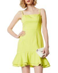 Karen Millen - Layered Hem Dress - Lyst
