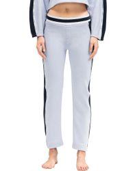 Calvin Klein Directional Sleep Pant - Blue