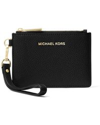 Michael Kors - Mercer Leather Coin Purse - Lyst