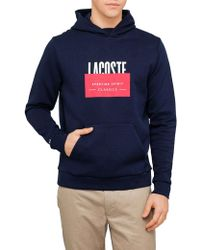 Lacoste - Logo Pullover - Lyst