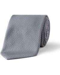 BOSS - 7cm Neat Silk Tie - Lyst