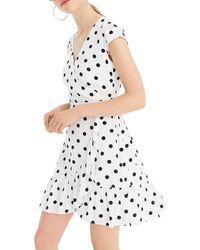 J.Crew A-line Dress - White