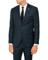 Ted Baker - 2b Sb Sv Wool Glen Check Jacket - Lyst