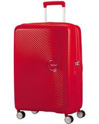 American Tourister Curio 69cm Medium Suitcase - Red