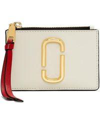 Marc Jacobs Top Zip Multi Wallet - Multicolour