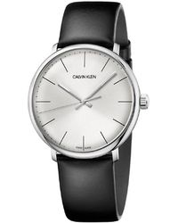 Calvin Klein - Ck High Noon Polished Ss Case Silver Dail 40mm - Lyst