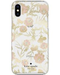 Kate Spade - Hard Case For Iphone Xr - Blossom Pink - Lyst
