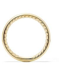 David Yurman - Dy Eden Smooth Wedding Band In 18k Gold, 2.5mm - Lyst